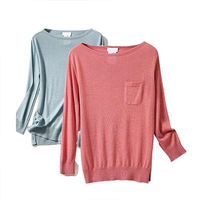 Cashmere Sweater Solid Color Sweaters