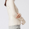 Cashmere Ribbed Sweater Oatmeal